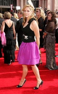 Mary McCormack at the 57th Annual Emmy Awards.