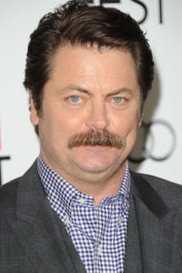 Nick Offerman at the