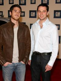 Dave Annable and Matthew Rhys at the 6th Annual General Motors TEN event.