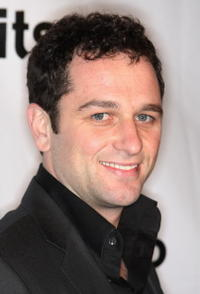 Matthew Rhys at the SU2C Merchandise Collection Launch party.