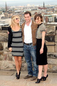 Sienna Miller, Matthew Rhys and Keira Knightley at the world premiere of