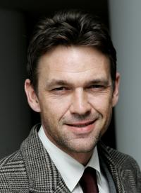 Dougray Scott at the drinks reception during the VIP performance of