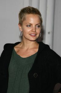 Mena Suvari at the premiere of