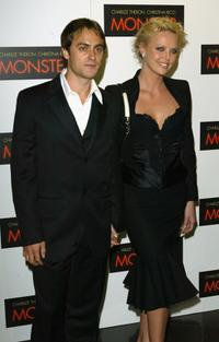 Stuart Townsend and Charlize Theron at the UK premiere of