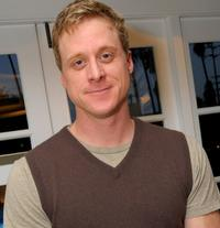 Alan Tudyk attends the Luxury Lounge in honor of the 2008 SAG Awards.
