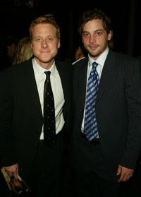 Alan Tudyk and Skeet Ulrich at the after party premiere of