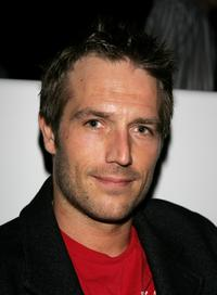 Michael Vartan at the Play Station Portable Fashion and Technology show.
