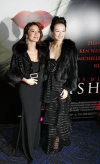 Michelle Yeoh and Zhang Ziyi at the premiere of