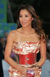 Michelle Yeoh at Premiere during Day 2 of the 64th Annual Venice Film Festival.