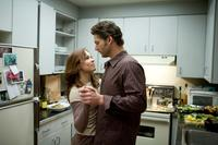 Rachel McAdams as Clare Abshire and Eric Bana as Henry in