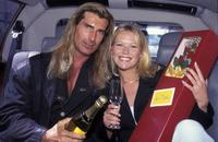 Fabio and Jo Beth Taylor at the Romance In Sydney.