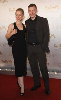 Sonja Kerskes and Werner Daehn at the department store 100th birthday celebration.