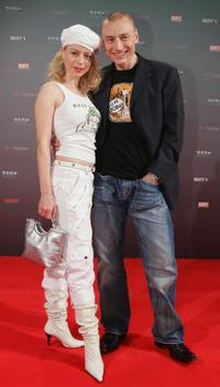 Nina and Werner Daehn at the NEO Awards.