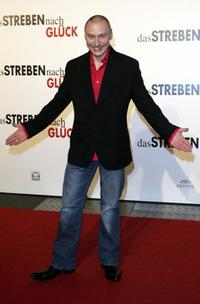 Werner Daehn at the German premiere of