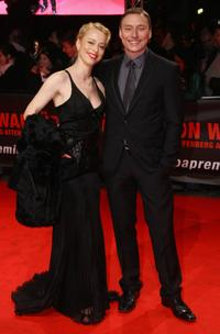 Sonja Kerskes and Werner Daehn at the European premiere of