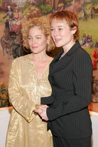 Amy Irving and Jennifer Ehle at the after party of the opening night of