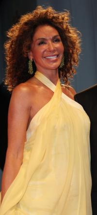 Giannina Facio at the premiere of