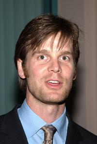 Peter Krause at the panel discussion of