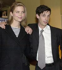 Sophie Lee and Noah Taylor at the Australian premiere of