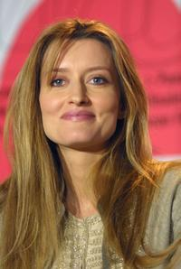 Natascha McElhone at the Berlinale Film Festival.