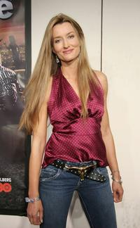 Natascha McElhone at the premiere of HBO's series