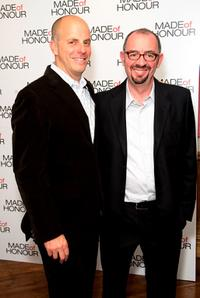 Neal H. Moritz and Director Paul Weiland at the screening of