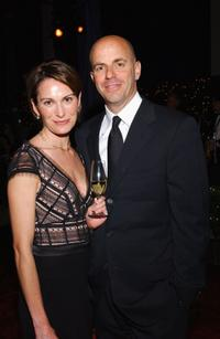 Sarah and Neal H. Moritz at the New York City Ballet gala.