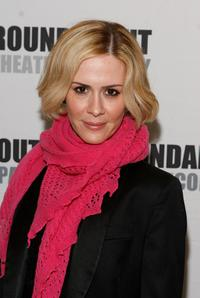 Sarah Paulson at the 2008 Roundabout Theatre Company
