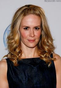 Sarah Paulson at the 18th Annual Producer Guild Awards.