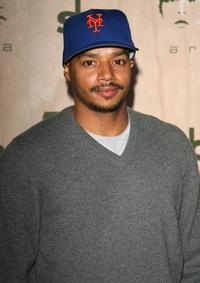 Donald Faison at the AREA Nightclub Grand Opening.