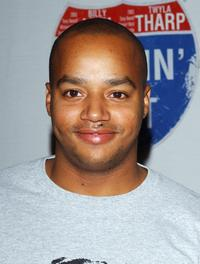 Donald Faison at the celebrity gala opening for the national tour of Movin' Out.