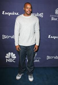 Donald Faison at the