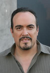 David Zayas at the Playboy Legacy Collection.