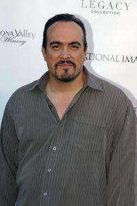 David Zayas at the Playboy Collection Legacy Reception.