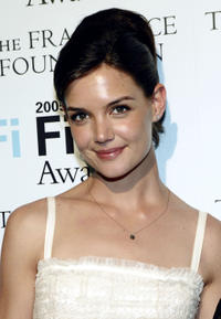 Katie Holmes at the 2005 FiFi Fragrance Awards in New York City.