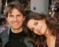 Tom Cruise and Katie Holmes at the Los Angeles fan screening of