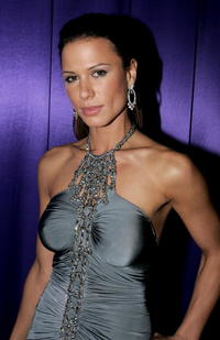 Rhona Mitra at the InStyle Golden Globe After Party in Beverly Hills.