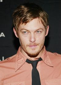 Norman Reedus at the premiere of