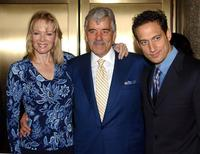 Dennis Farina, Elon Gold and Jean Smart at the cast of