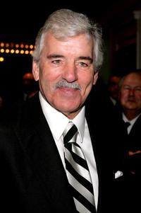 Dennis Farina at the play opening night of