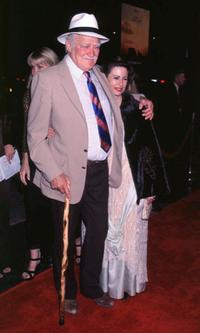 Richard Farnsworth at the Los Angeles premiere of
