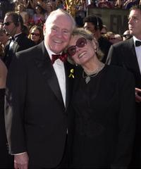 Jack Lemmon and Felicia Farr at the 52nd Annual Primetime Emmy Awards.