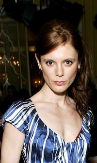 Emilia Fox at the Luella LFW Autumn / Winter 2008 show.