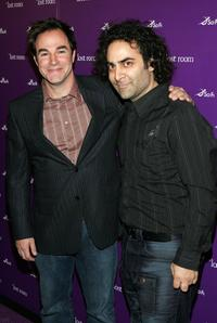 Roger Bart and Jason Atoon at the premiere of
