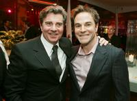 Gary Beach and Roger Bart at the premiere of