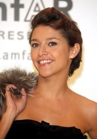 Emma De Caunes at the amfARs Inaugural Cinema Against AIDS Rome.