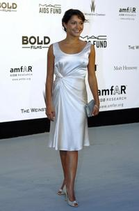 Emma De Caunes at the amfARs (American Foundation for AIDS Research)