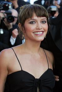 Emma De Caunes at the official screening of