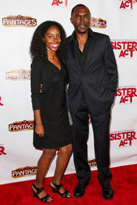 Richard Brooks and guest at the California premiere of