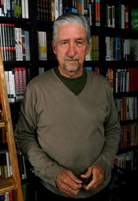 Tom Hayden at the signing of